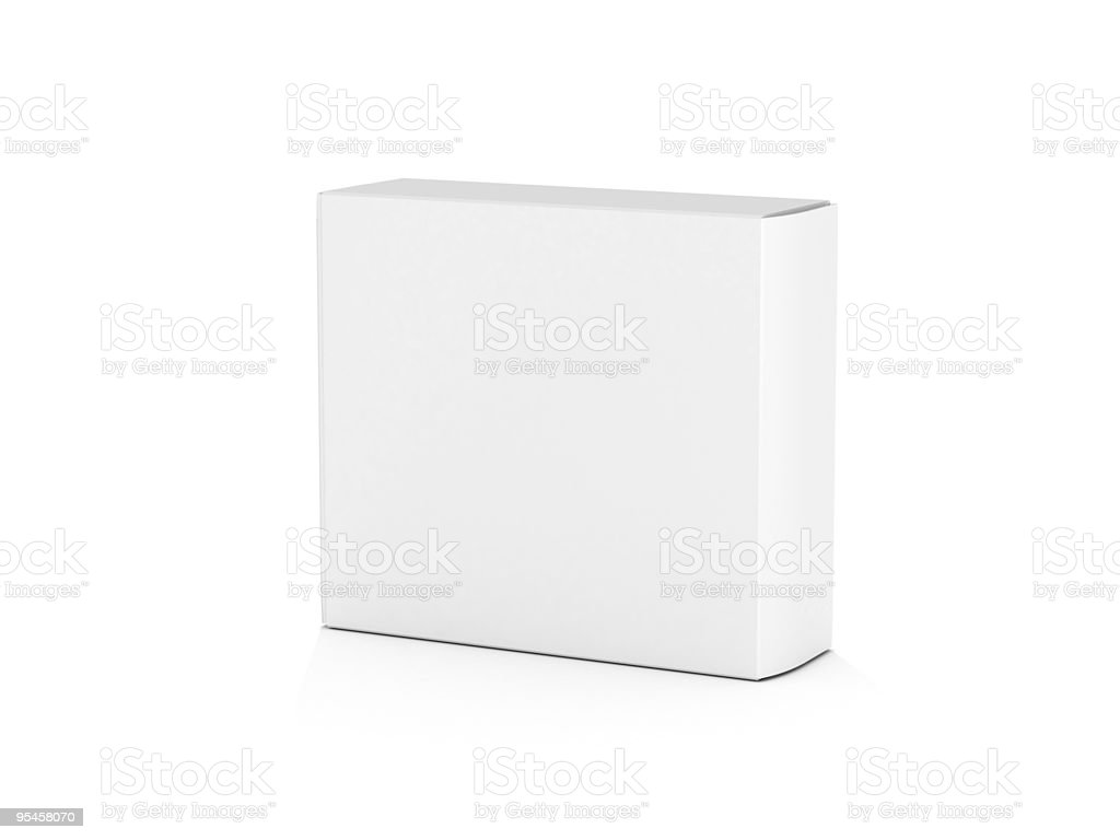 Сardboard box royalty-free stock photo