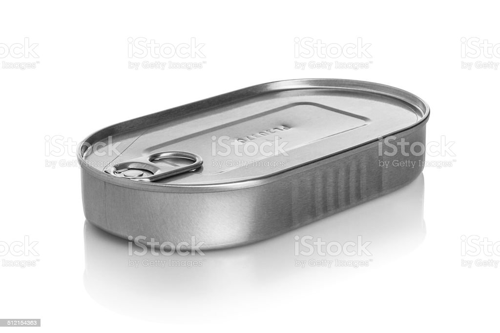 Sardine Can stock photo