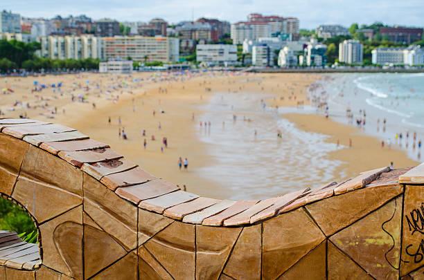sardinero beach - santander zdjęcia i obrazy z banku zdjęć