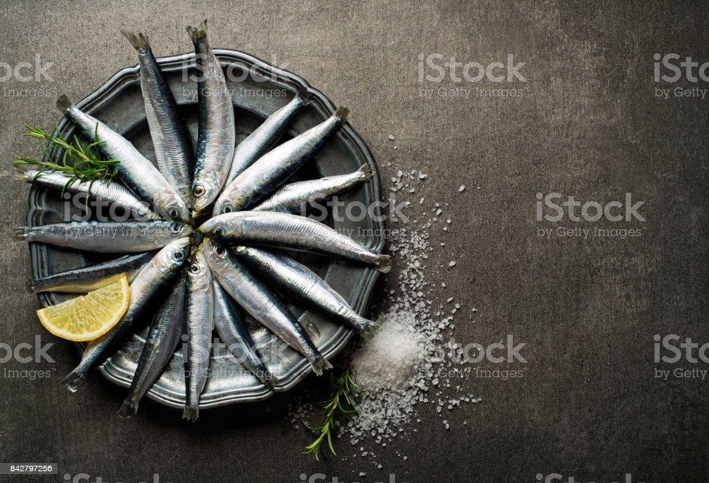Sardines - foto de stock