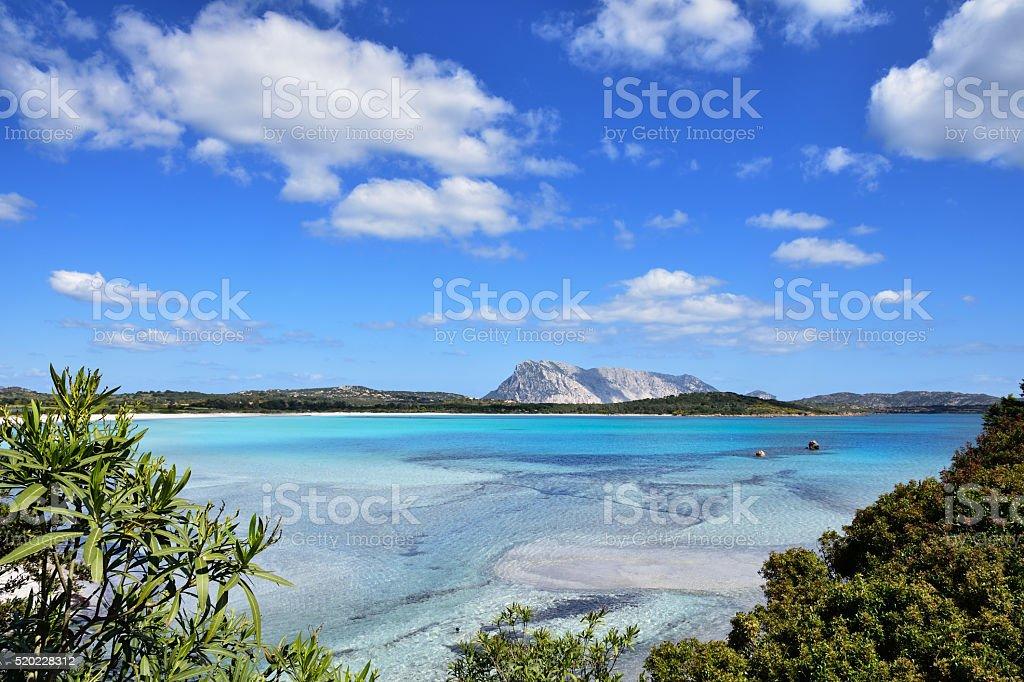 Sardinia, beach. stock photo