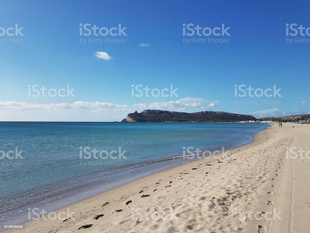 Sardinia, Poetto-Cagliari stock photo