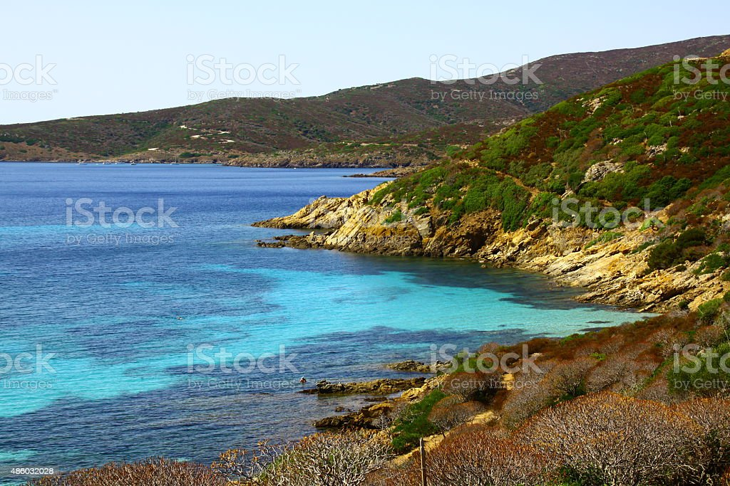 sardinia sea stock photo