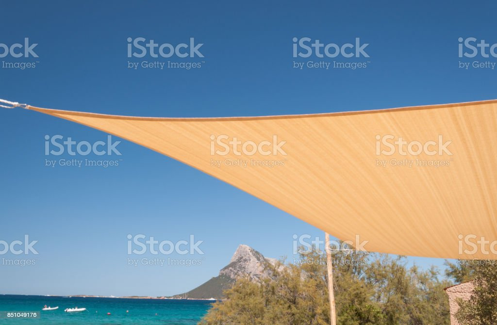 Sardinia sea porto taverna stock photo