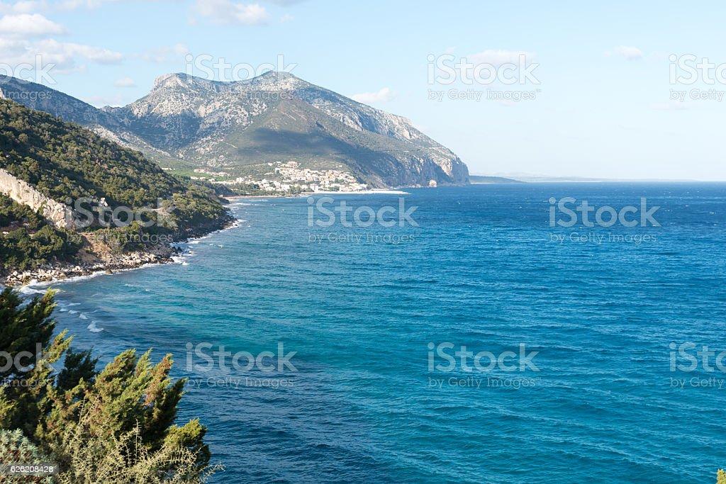 Sardinian coasts stock photo