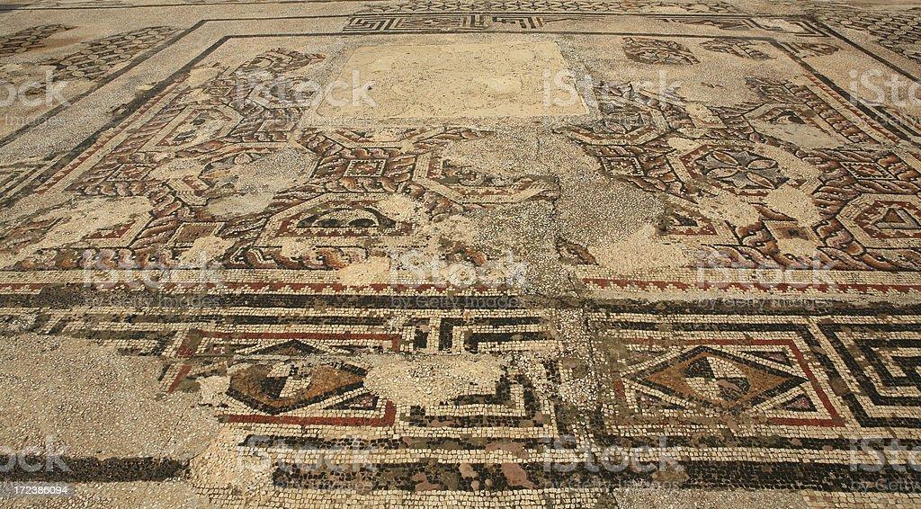Sardis - Turkey 'The amazing mosaics' royalty-free stock photo