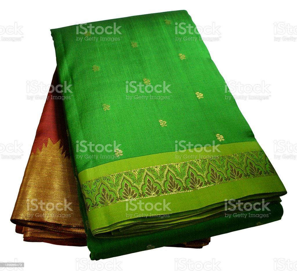 Saree Border royalty-free stock photo