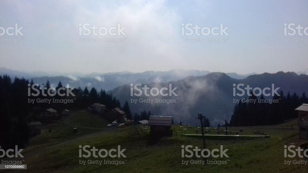 Sarganserland Schweiz Europa – Foto