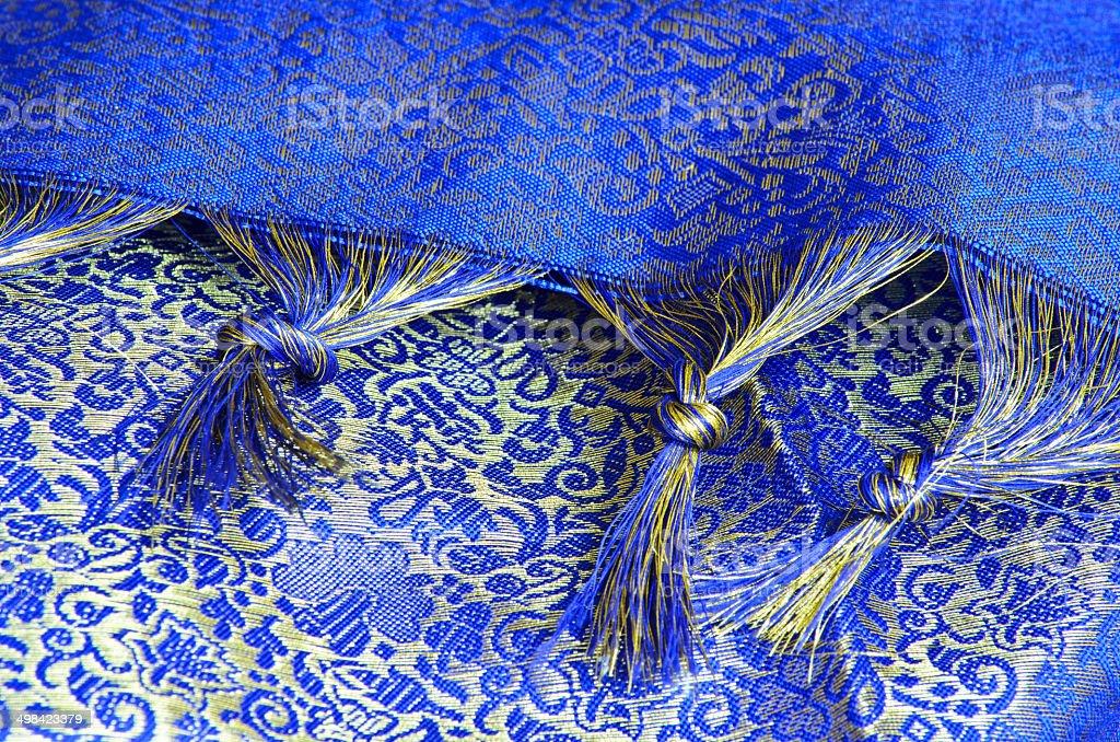 Sari Tassles stock photo