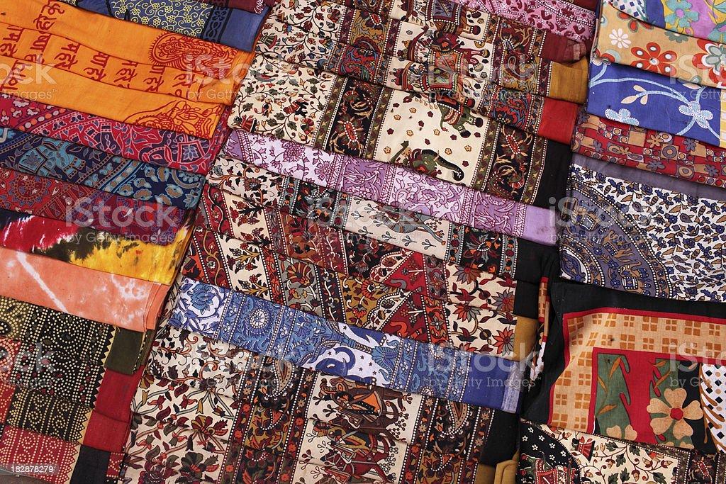 Sari Variety royalty-free stock photo
