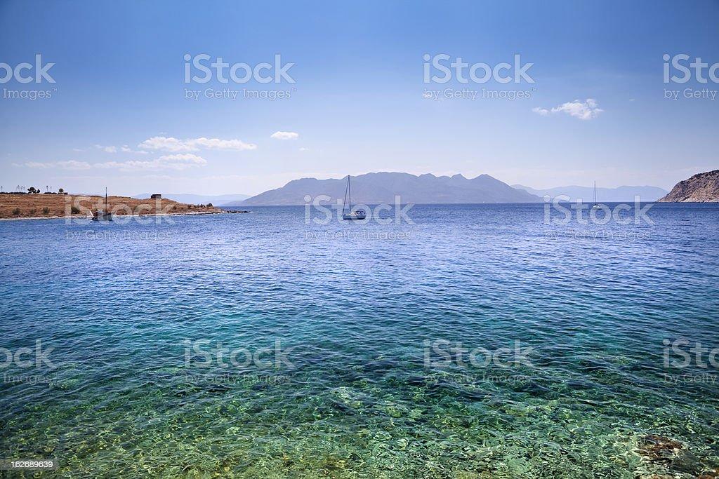 Saronic Gulf stock photo