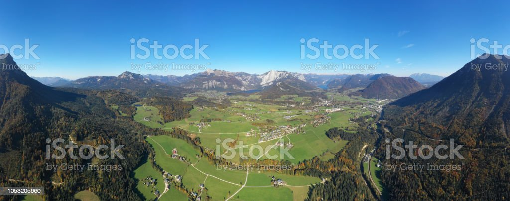 Sarstein, Loser Altaussee, Trisslwand, Grundlsee, Totes Gebirge, Grimming, Zinken, Steiermark, Ausseerland, Panorama, Österreichische Alpen – Foto