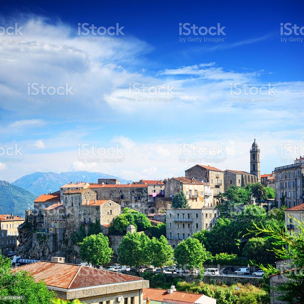 Sartene, Corsica stock photo