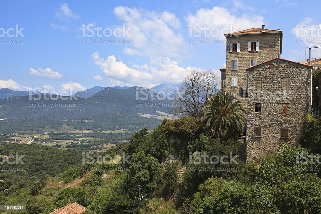 Sartene, France royalty-free stock photo