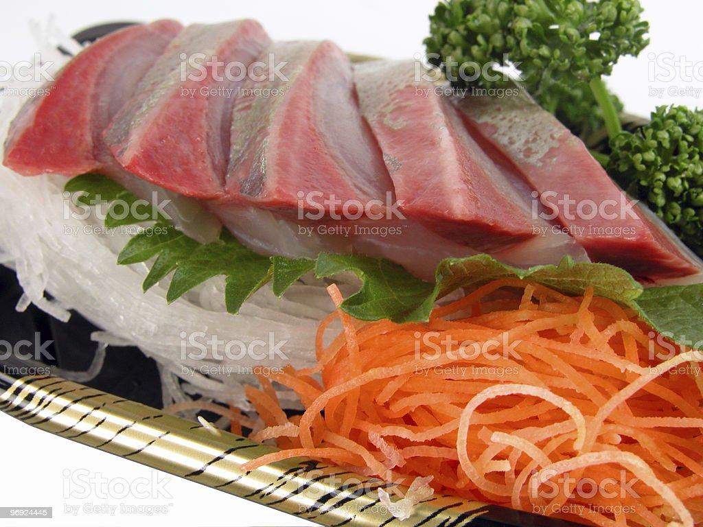 Sashimi close-up royalty-free stock photo
