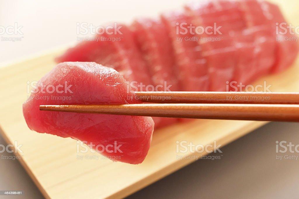 Sashimi dishes stock photo