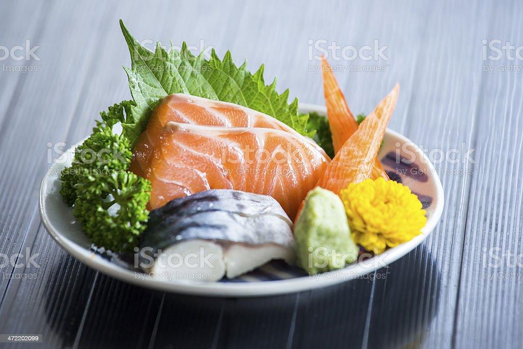 Sashimi Japanese food royalty-free stock photo