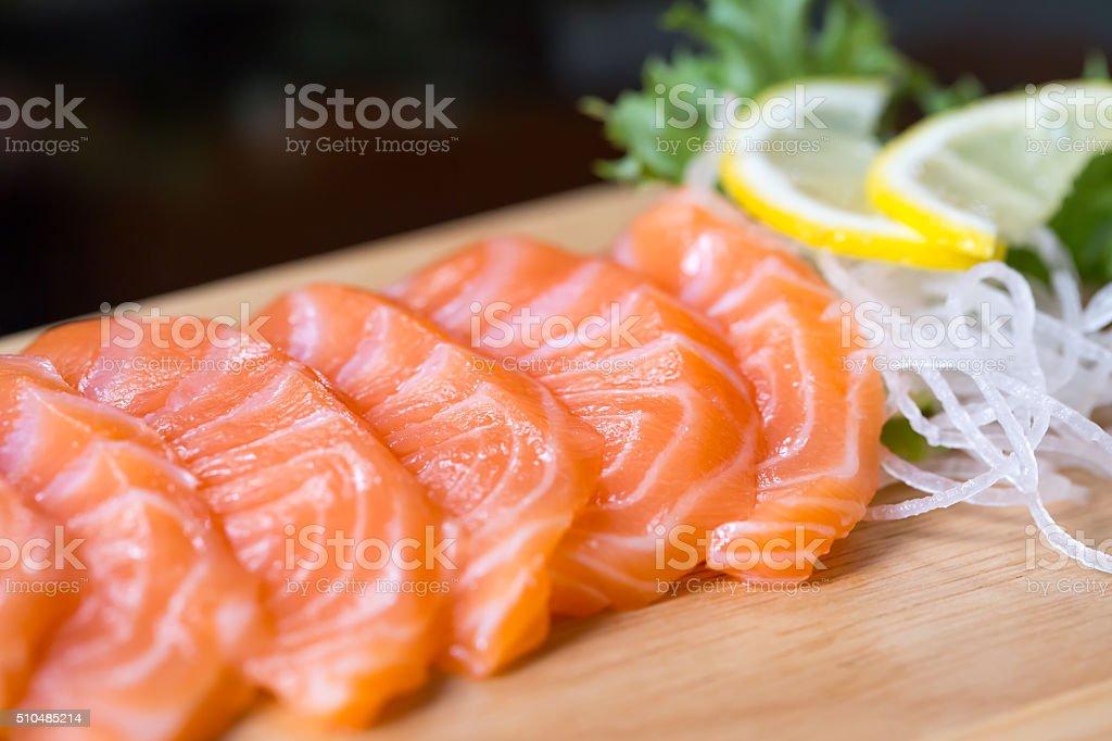 Sashimi, Japanese food stock photo