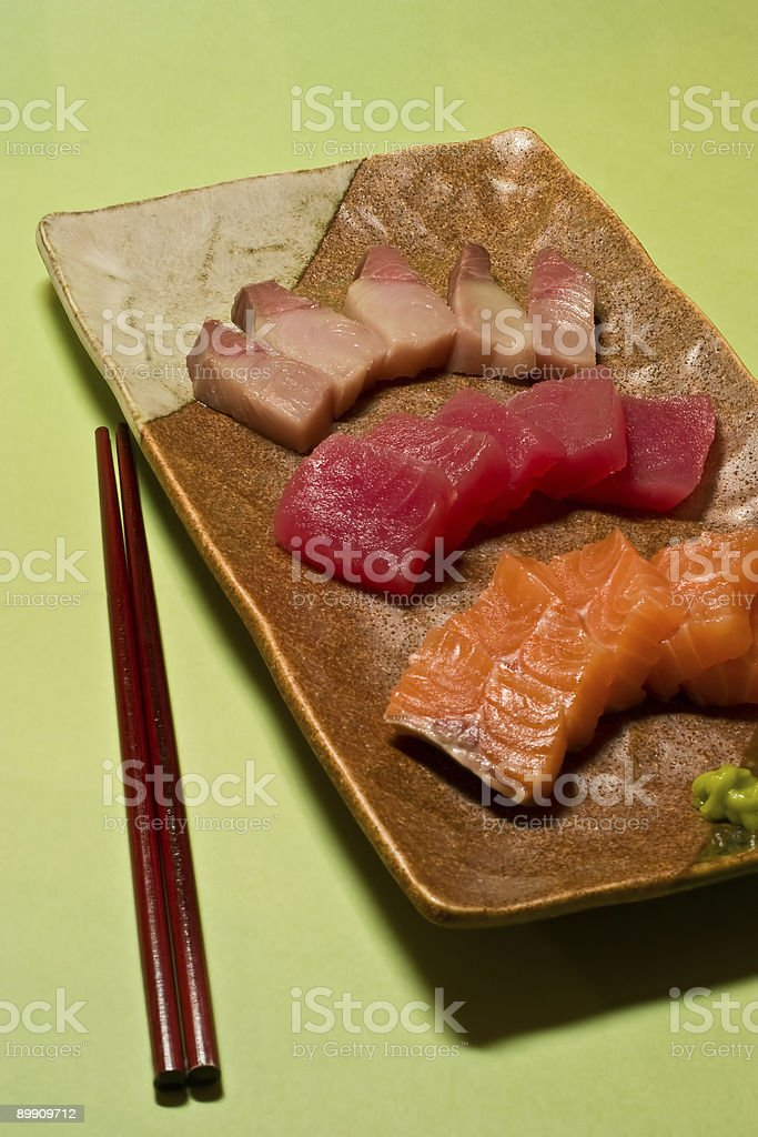 Sashimi royalty-free stock photo