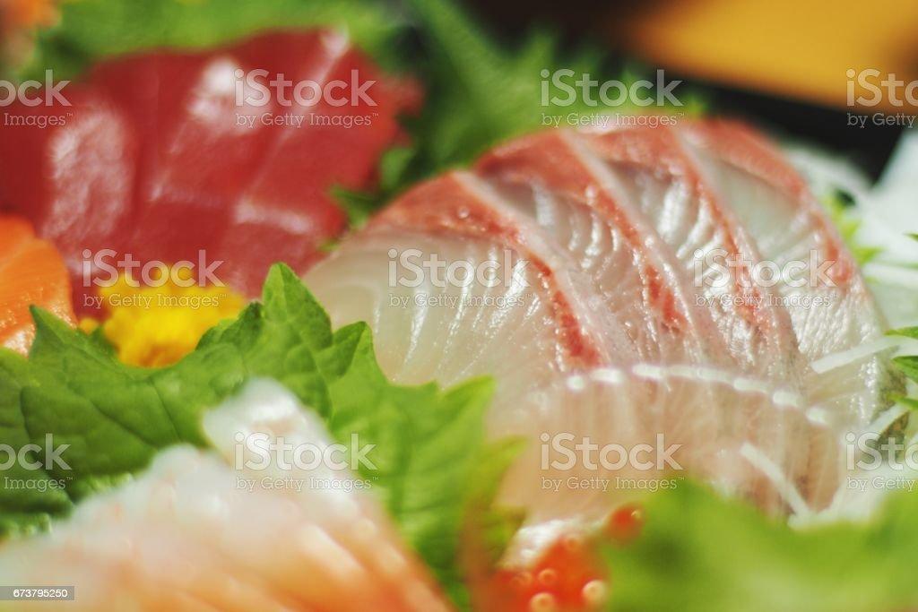 Sashimi,Japanese food stock photo