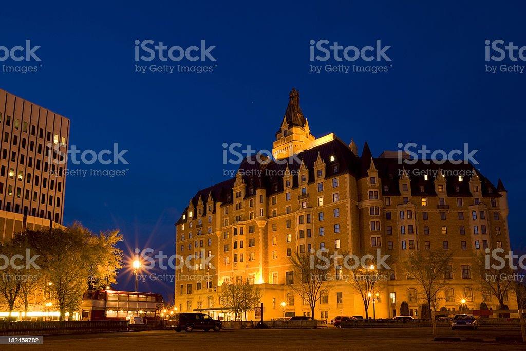 Saskatoon, Saskatchewan royalty-free stock photo