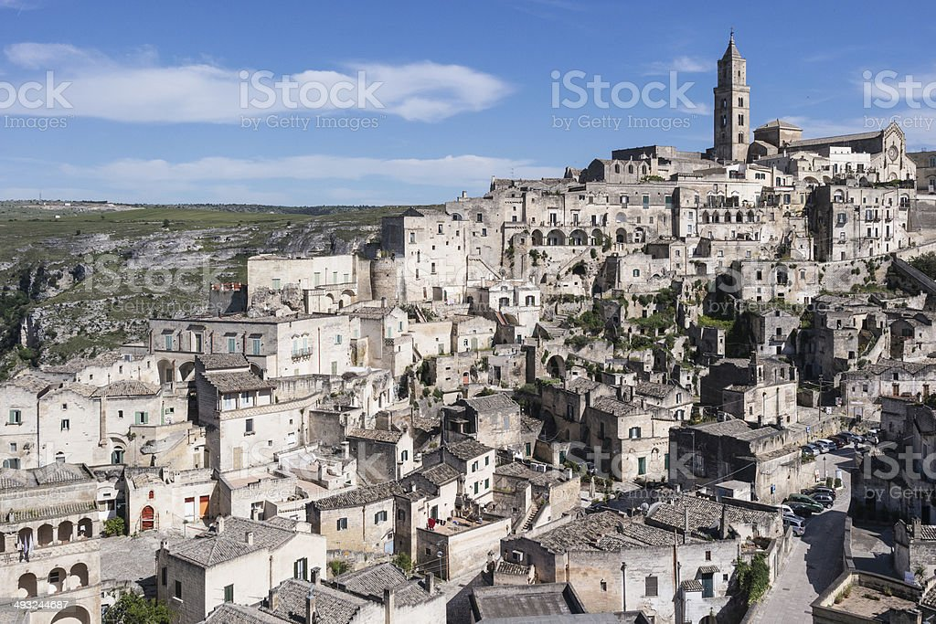 Sassi di Matera, Italy royalty-free stock photo