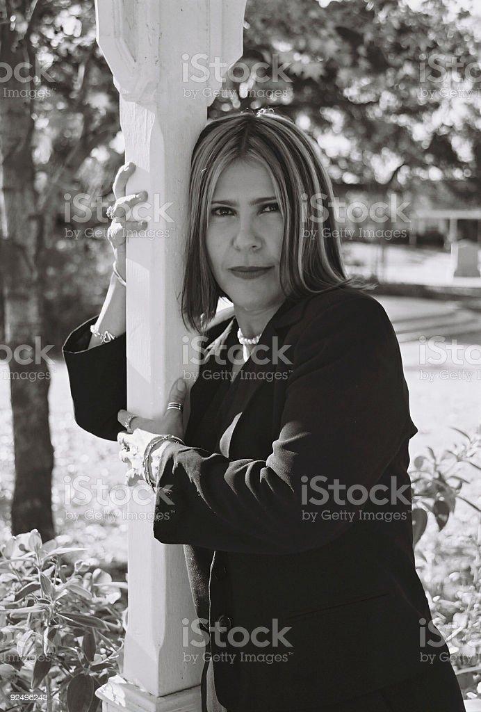 Sassy latina royalty-free stock photo