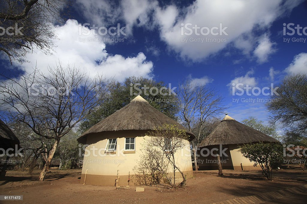 Satara in Kruger Park, South Africa royalty-free stock photo