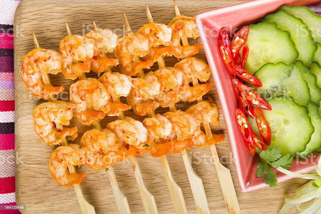 Sate Goong royalty-free stock photo