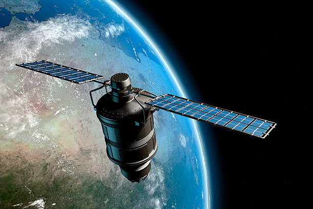 satelite and earth 7 - satellite view stock pictures, royalty-free photos & images