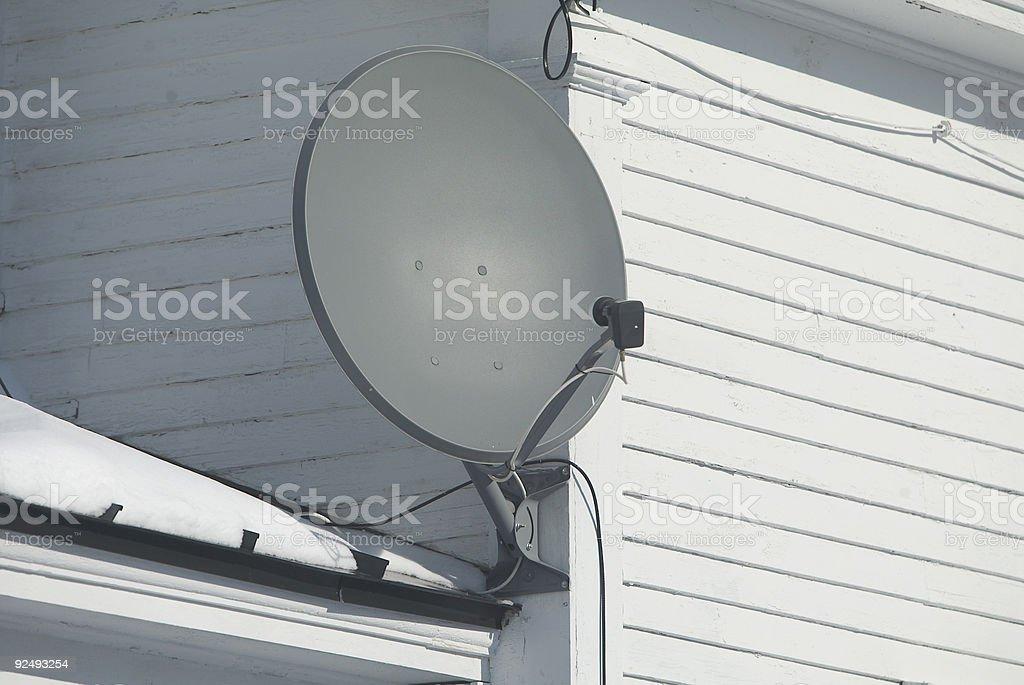satelite dish royalty-free stock photo
