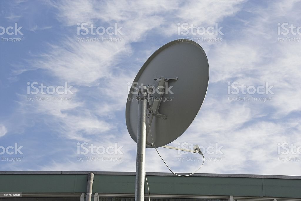 Satelite dish royalty-free stock photo