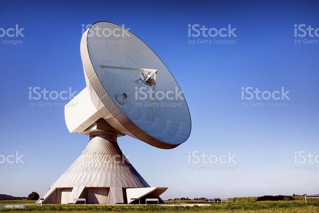 satelite dish - radio telescope royalty-free stock photo