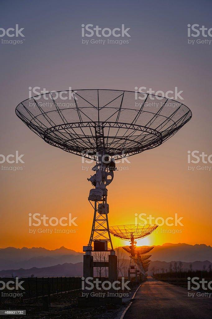 Satelliten-Gerichte – Foto