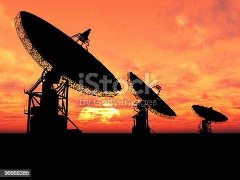 istock Satelite Dishes 96666385