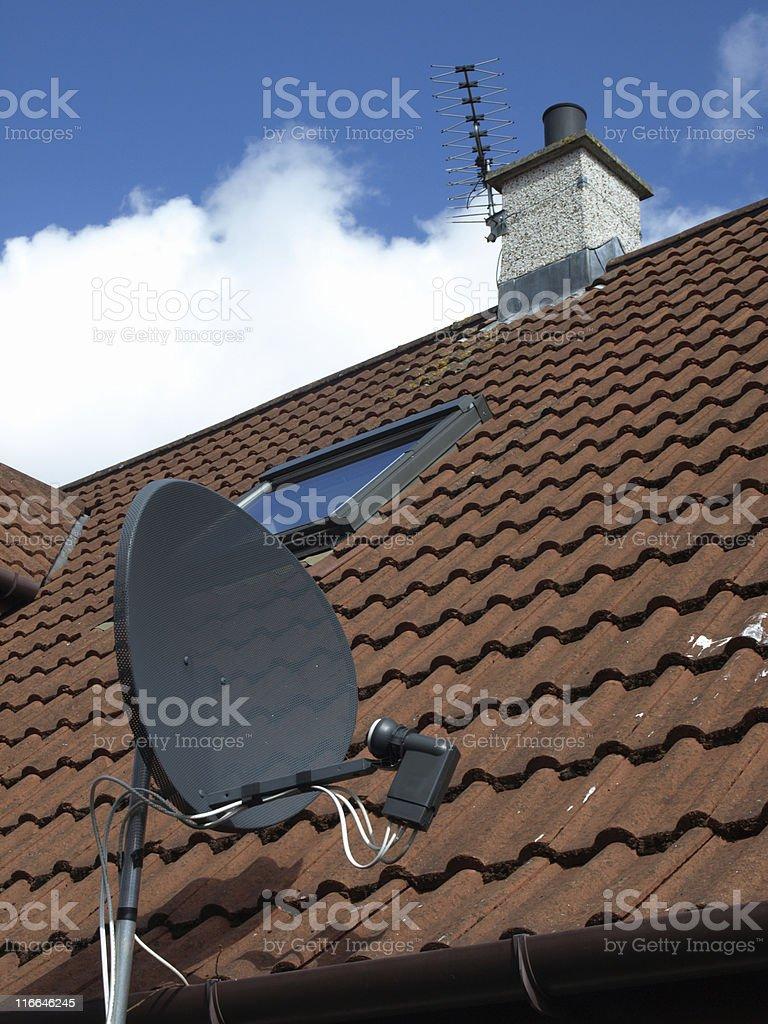 Satelite TV Receiver royalty-free stock photo