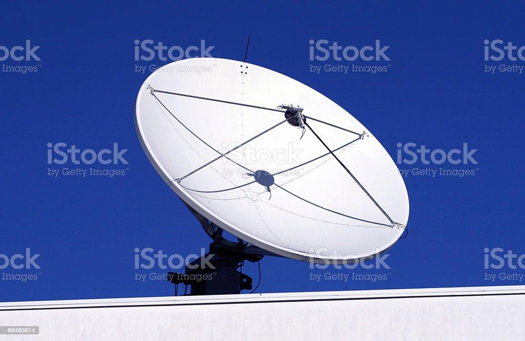 Satelitte dish royalty-free stock photo