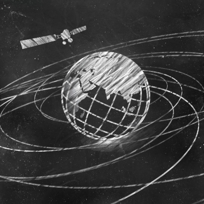 istock Satellite And Earth 186774007