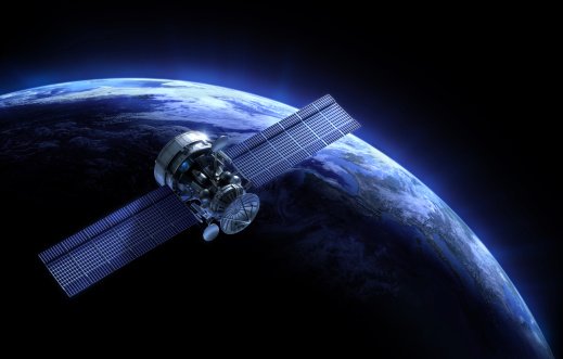high-quality 3d image of satellite