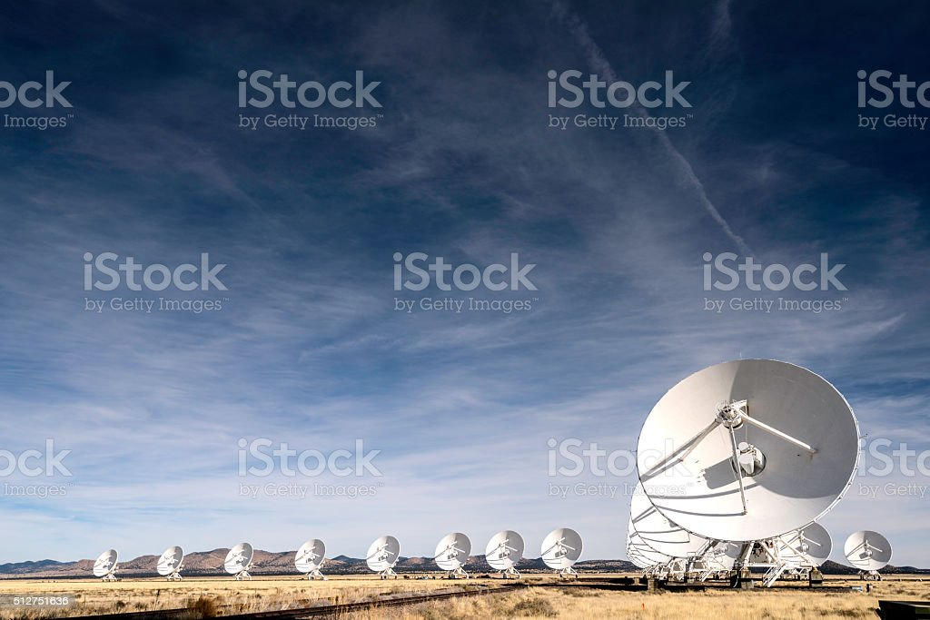 Satellite Array stock photo