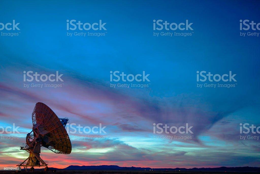 Satellite Array - VLA stock photo