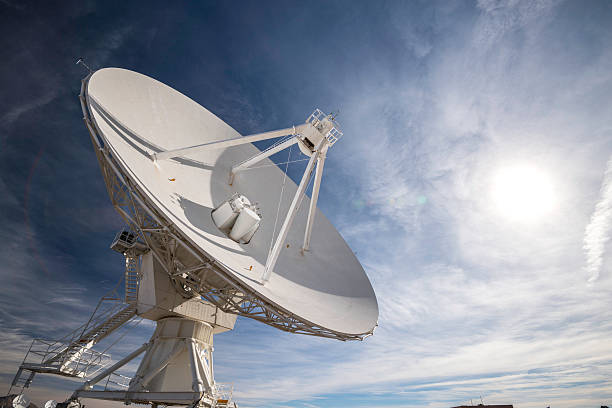 Satellite Array - VLA The Very Large Array, New Mexico antenna aerial stock pictures, royalty-free photos & images