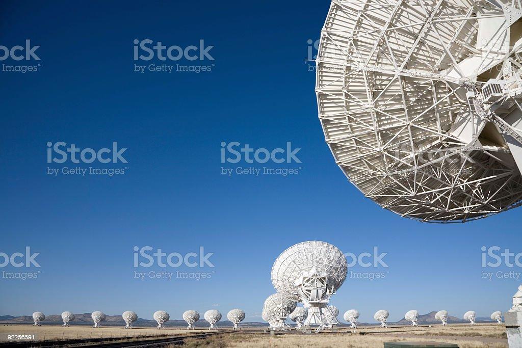 Satellite Array - VLA royalty-free stock photo