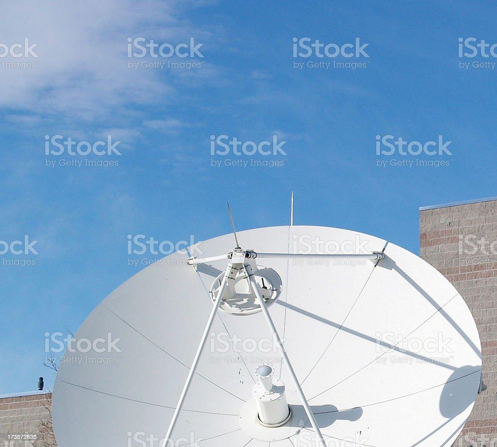 Satellite Cell Phone Communication stock photo