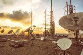istock Satellite dish 586738076