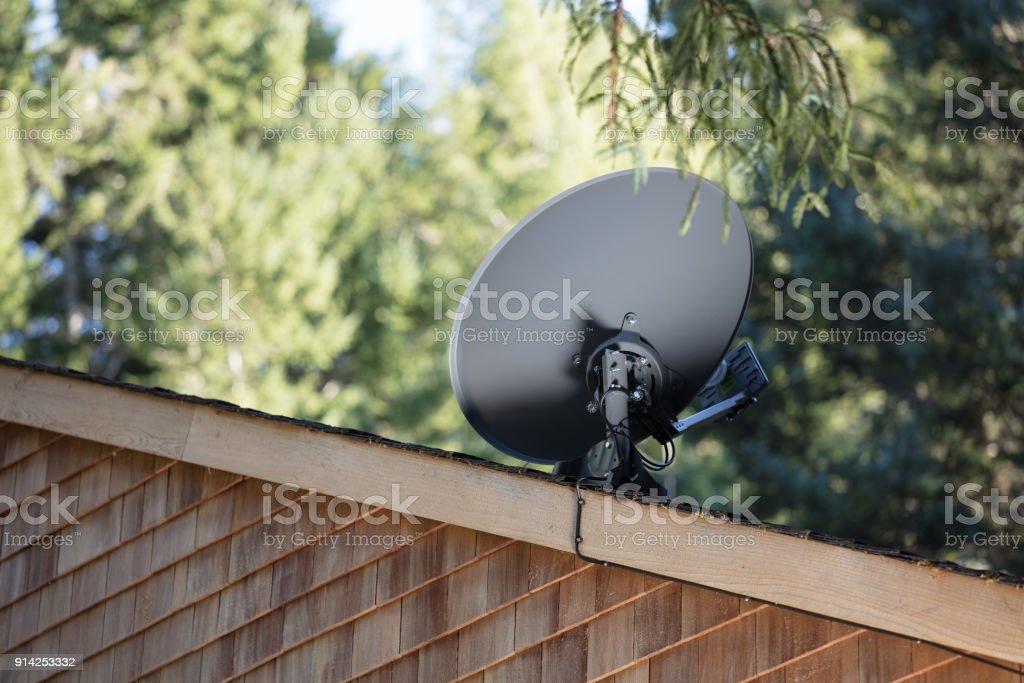 - Fernseher Satellitenschüssel – Foto