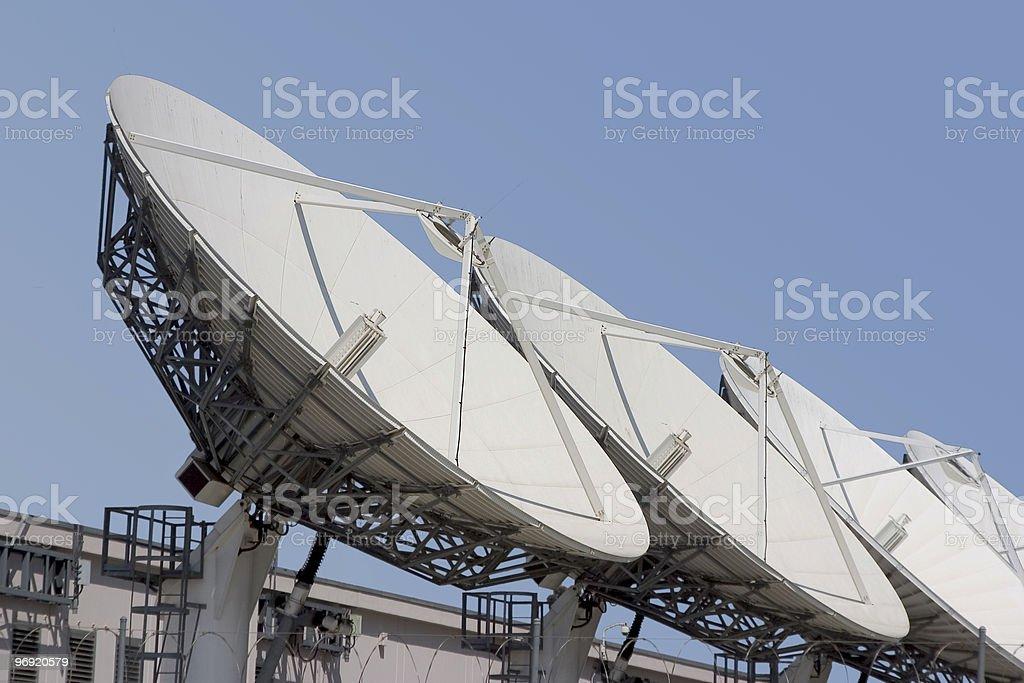 Satellite Dish #1 royalty-free stock photo