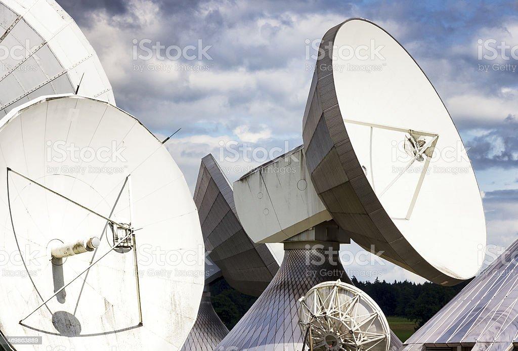 satellite dish - radio telescope royalty-free stock photo