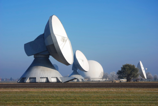 Satellite Dishes Stock Photo - Download Image Now