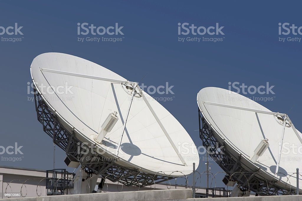 Satellite Dishes #3 royalty-free stock photo